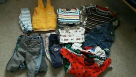 Reduced Huge Bundle over 100 items Boys 3-6, 6-9, 9-12 and 12-18 Clothes