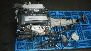 JDM NISSAN 240SX SILVIA S14 SR20 TURBO ENGINE  5 SPEED TRANNY