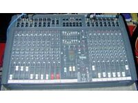 spirit BY SOUND CRAFT 1200 POWERED MIXER 1200 WATTS