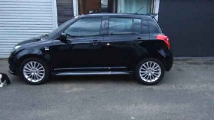 For sale 2009 Suzuki swift sportz or swap for a small 4wd