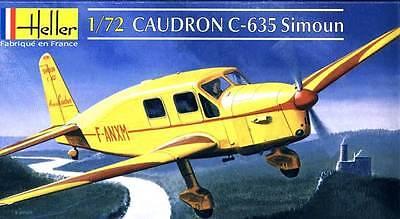 Heller Caudron C-635 Simoun 3 Versions Modèle-kit 1:72 Kit Neuf Astuce