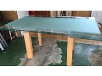 John Lewis Glass Dining Table