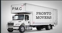 PRONTO MOVERS! DELIVERIES/ OFFICE /HOME 647 330 9078 $55/HR
