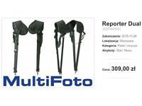 Reporter Dual dual camera harness