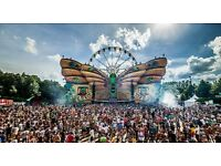 2x Tomorrowland Full Madness with camping Weekend 2