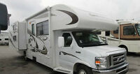 Motorhome Rental 2012 31' Class C RV for Rent sleeps 8-9