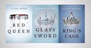 RED QUEEN TRILOGY - VICTORIA AVEYARD - TRADE PAPERBACK - BN!!