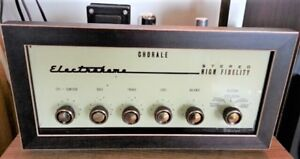 Electrohome vintage stereo tube preamplifier