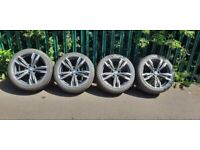 "Genuine BMW alloy wheels 19"" style 433m,set of 4"