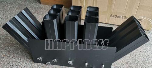 2 inch 15 shots upgrade AL racks for fireworks display, display racks black