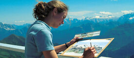 Artist wanted for informal Watercolour Tuition and a summer in the Spectacular Dolomites!