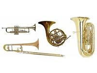 To all French Horn, Trumpet, Cornet, Trombone & Tuba players!