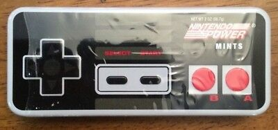 Nintendo Power Mints Game Controller 2.0 oz Tin