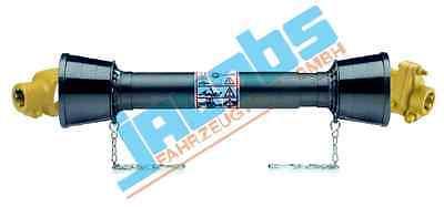 Gelenkwelle Zapfwelle Antriebswelle B4 910mm Scherbolzenkupplung 1 3/8-6 Zähne