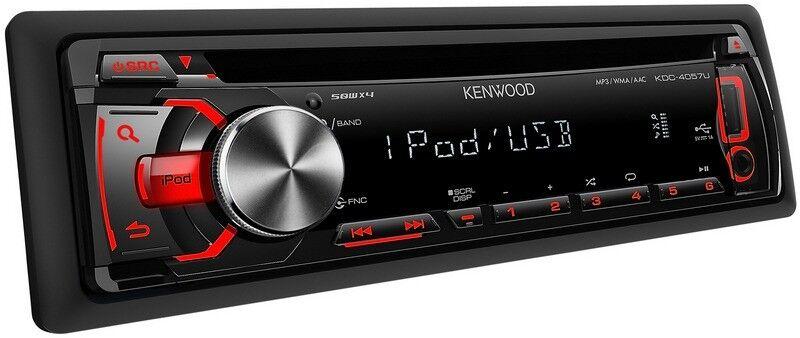 KENWOOD KDC- 4057U Car Stereo Radio CD FM / USB / iPod / Single DIN Head  Unit (no offers, please) | in Musselburgh, East Lothian | Gumtree