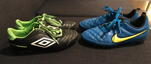 Youth Soccer Cleats (size 3)