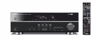 YAMAHA 5.1 SURROUND SOUMD AMPLIFIER , 5 HDMI