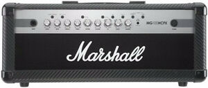 Marshall MG100HCFX head, and MG412ACF matching slanted cab