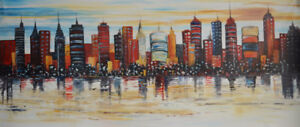 KVB-013, Brand New, Hand made (not printed) Oil painting