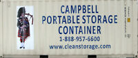 CAMPBELL PORTABLE STORAGE CONTAINERS