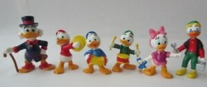 Vintage 1980s Disney Bully Duck Tales Figurines