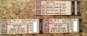 2 tickets for Roger Waters Concert in Ottawa -CTC