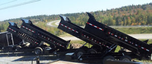 Heavy Duty Dump Trailers at Great Prices!