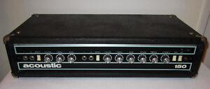 Acoustic Control 150 head (amp)