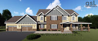 Residential House Plans, Drafting Services, 3D Renderings