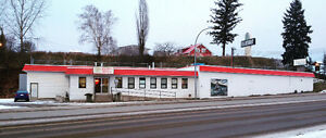 Large, Busy, West Quesnel Commercial Space for Lease/Sale