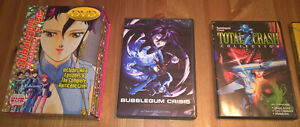Bubblegum Crisis and AD Police DVD sets