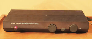 Musical Fidelity A1   Stereo Integrated Amplifier