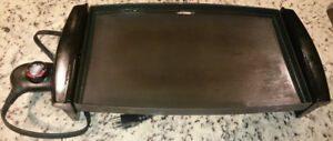 George Foreman PW2365 Flat plate Electric Griddle
