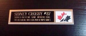 Nameplates For Sports Memorabilia London Ontario image 5