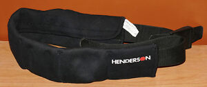 Henderson Neoprene Weight Belt with 7 Velcro Compartments (L)