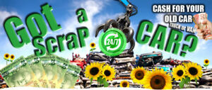 I BUY SCRAP CAR'S,TRUCK'S AND SUV'S