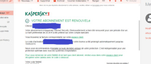 Licence Kaspersky Internet Security  14 $