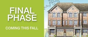 Brand New Freehold Townhouses For Sale in Brampton 410 & Bovaird