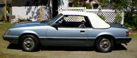 1986 Mustang convertible for sale. eligible for collector status