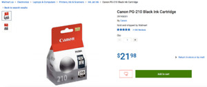 Canon PG-210 FINE ink cartrige (black)