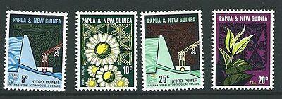 PAPUA NEW GUINEA SG113/6 1967 HYDRO ELECTRIC SCHEME MNH