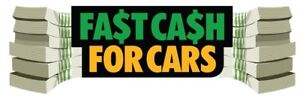 We buy scrap cars , cash on site , quick junk removal
