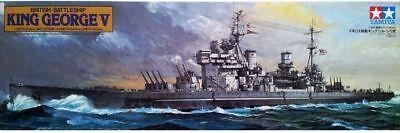 Tamiya 78010 1/350 British Battleship King George V Model Kit