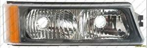 Signal Lamp Passenger Side High Quality Chevrolet Silverado 2003-2006