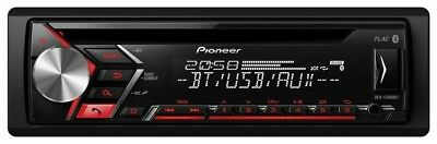 Pioneer Autoradio DEH-S3000BT - CD/ MP3 - Tuner mit RDS, Bluetooth, USB