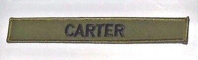 Carter Uniform (Stargate SG-1 Carter Uniform Name Chest Insignia Embroidered Premium Patch 7