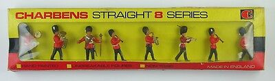 Vintage Charbens Straight 8 Series No. 56 Guards Band, Metal Toy Soldiers, Boxed
