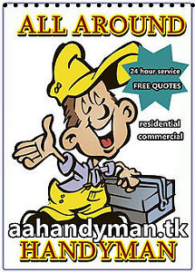 All Around Handyman Property Maintenance and Clean Ups
