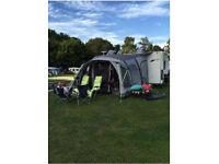 2011 Elddis Avante 564 25th Anniversary Edition, 4 Berth Caravan inc Outwell Air Awning