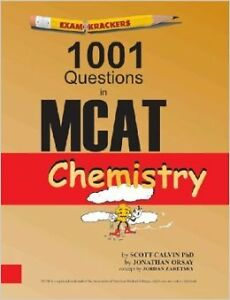 MCAT ExamKrackers 1001 Questions - Physics & Chemistry